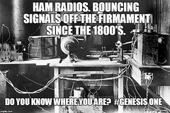 Ham Radios (ipressthis) Tags: sun moon radio plane truth flat god earth space ham yang dome reality bible 1800 curve yinyang yin genesis universe hoax curvature flatearth nocurve