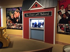 "No Child Left Behind at George W. Bush Library • <a style=""font-size:0.8em;"" href=""http://www.flickr.com/photos/109120354@N07/27821844126/"" target=""_blank"">View on Flickr</a>"