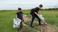 20160623_130412 (Keep Wales Tidy) Tags: bridge summer up coast marine severn clean litter learning monmouth welsh care baccalaureate caldicot rogiet welshcoastalpathcleanup