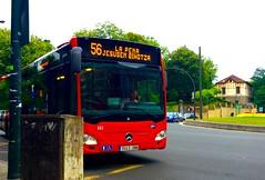 Bilbobus 56 (inigo.vanaman) Tags: espaa bus mercedes benz la spain country bilbao transportation sagrada bizkaia basque euskadi corazon 56 pea autobs bilbobus bihotza jesusen