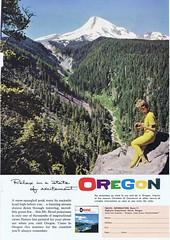Oregon 1961 (Runabout63) Tags: travel vacation oregon advert