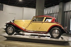 The New Petersen Automotive Museum (USautos98) Tags: 1930 rollston phantomi windblown coupe brewster