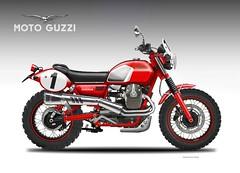 MOTO GUZZI V7 LODOLA REGOLARITA' (obiboi) Tags: design motoguzzi v7 lodola obiboi