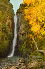 A Little fall in a Small town (eduardo.kobs) Tags: fall cachoeira cascata vel tarde afternoon golden hour hora mgica dourada outdoor landscape paisagem natureza nature