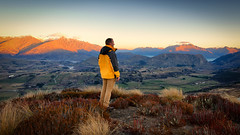 Valley bloke (Pat Charles) Tags: newzealand nz queenstown coronetpeak arrowtown valley lake wakatipu otago centralotago nikon farm rural sheep winter ski sunset dalefield speargrassflat shotover queenstownhill alps remarkables mountains hill frankton lakehayes lakewakatipu hayes arrowjunction