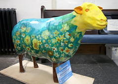 Dilly (Cumberland Patriot) Tags: church st sheep grasmere painted go indoor cumbria trust calvert dilly ewe oswalds cumbrian herdwick goherdwick
