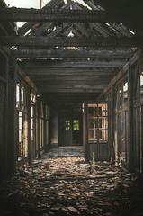 Burnt dreams (k.tusnio) Tags: burnt hdr nikon d5100 urban exploration lost forgotten 35mm poland