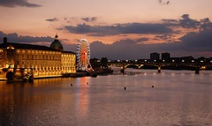 Toulouse by evening (Westhamwolf) Tags: toulouse france wheel ferris bridge river garonne eye le pont saint pierre