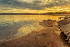 Last Minute (Peter Vestin) Tags: nikondf sigma35mmf14dghsmart siruin3204x siruik30x adobecreativecloudphotography topazlabscompletecollection skutberget karlstad vrmland sweden vnern nature landscape seascape sunset