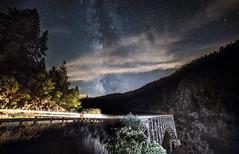 Bridgeview (Night Scapes) Tags: steverengers milkyway bridge nightsky california