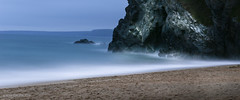 The Beach at Dusk (norm.edwards) Tags: tolcarne beach cornwall sand dusk slow shutter thebiggestgroup