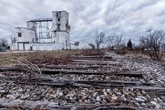 Last Train? Been a while. (jasonnelson442) Tags: hilliard ohio abandoned decay railroad train track