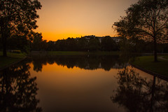 Sunset, Westpark - Munich (ME Photography (Moritz Escher)) Tags: westpark ndfilter sommer evening night canoneos50d canon longexposure