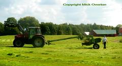 Massey Fergusson 6290 tractor + Krone Easy-Cut job done 2/2 (sms88aec) Tags: massey fergusson 6290 tractor krone easycut job done 22