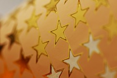 star-shaped stickers (notpushkin) Tags: macromondays stars