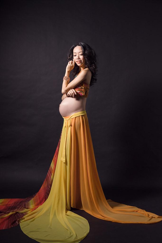 孕婦寫真,孕婦攝影,孕婦棚拍,法鬥攝影棚,妞妞05