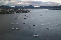 Sandy Bay, Hobart (bourdieu_boy) Tags: sandy bay hobart tasmania waterfront yachts water river mooring marina bridge tasman derwent samsung nx2000