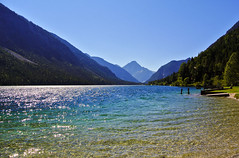 Plansee - Austria (Kat-i) Tags: plansee breitenwang tirol sterreich austria tyrol lake berge mountains wasser water himmel sky ammergaueralpen sommer summer nikon1v1 kati katharina 2016