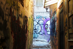 narrow street (Katrinitsa) Tags: plaka athens greece anafiotika colors shadows canon  nature city cityscape architecture view graffiti cityview street neighbourhood wallpainting wall narrow shadow ef35mmf14lusm art painting