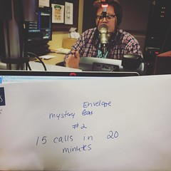 The #mysteryenvelope is real! Help us open it with your call at 855-816-8581 now!