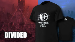 Divided 800x450 (Camisetas Alone) Tags: camisetas camiseta friki alone civil war divided