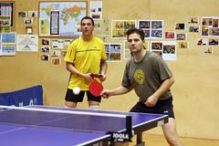 Georg und Michael beim Doppel