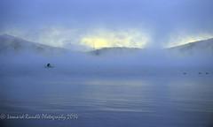 Love Fishing / Loves Life (leonardrandle1) Tags: morning sky cloud lake man beautiful birds boat dangerous fishing fuji mt outdoor determination yamanakako