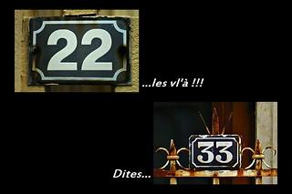 3 - Créteil Quand les numéros de rues m'amusent...