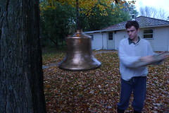 Seth rings the bell for breakfast