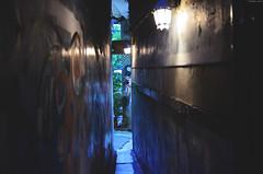 | Narrow door cafeTainan (Iyhon Chiu) Tags: taiwan lane tainan  narrow  2014