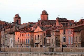Facing the Setting Sun - Arles, France