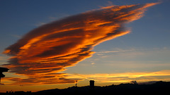 lenticular clouds (Marlis1) Tags: clouds wolken lenticularclouds weatherphotography marlis1 extremeclouds tortosacataluaespaa canong15 explorenov62014