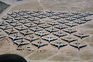 B-52G bombers await the blade