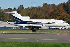 Private N606DH (Drewski2112) Tags: seattle county field airport king international boeing 727 bfi 727100 kbfi r721 b721 n606dh