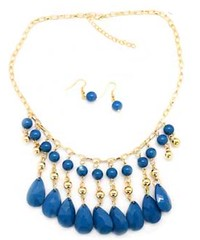 5th Avenue Gold Necklace P2010-4