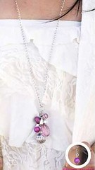 Glimpse of Malibu Purple Necklace K2 P2420-3