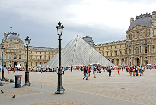 France-003221 -  Court Napoléon - Louvre by archer10 (Dennis) REPOSTING, on Flickr