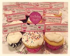 Cupcakes by Elicia and Vicki, Santa Cruz, CA, www.birthdaycakes4fre.com