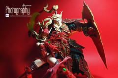 Horde - Blood Elves (Alvaria Photography) Tags: toy actionfigure photography worldofwarcraft warcraft fantasy figure videogame rogue blizzard horde paladin toyphotography bloodelf dcdirect