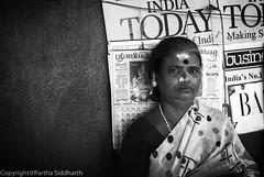 Today's India granny (ysoseriuos) Tags: portrait moody expression streetphotography streetportrait oldwoman granny chennai streetvendors womenatwork colorsoflife streetimages womenofindia lowlightphotography seriuos southindiangranny