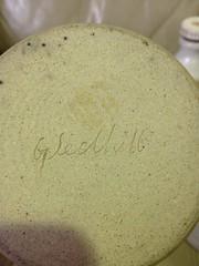 Incised Mark Geldhill  - Judi Gledhill (chickpeaoz) Tags: sa southaustralia stoneware gledhill australianpottery australianstudiopottery incisedmark judigledhill incisedgledhill decorativefunctionalstoneware leachinfluence