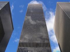 XYZ Buildings, Harrison & Abramovitz, 1969-71, New York (DeBeer) Tags: newyorkcity newyork 1969 architecture 1971 manhattan midtown american 1960s 1970s 20thcentury xyz latemodernism latemodern harrisonabramovitz xyzbuildings