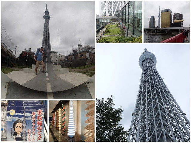 晴空塔天空樹日本東京自助旅遊淺草吾妻橋page