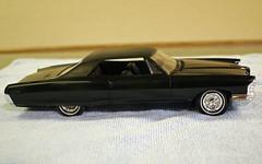 1965 Pontiac Grand Prix Promo Model Car - Starlight Black (coconv) Tags: pictures auto