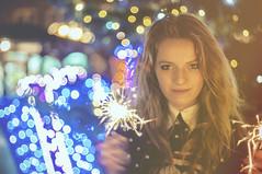 Karolina.00 (guzik_) Tags: christmas winter portrait girl beauty lights nikon bokeh caroline poland polish pole yashica christmastime d90