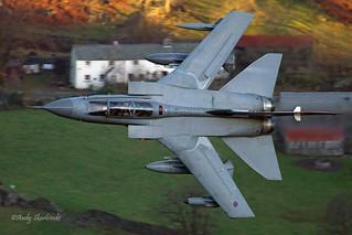 RAF Tornado GR4 from Smaithwaite, 5/11/2014