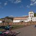 Igreja colonial sobre base inca