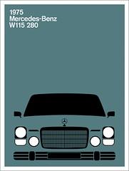 Print (Montague Projects) Tags: mercedesbenz 1975 germandesign carposter