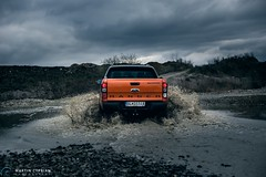 Ford Ranger Wildtrack (CypoDesign) Tags: orange cars ford photography ranger photoshoot offroad automotive slovakia suv postprocess flashes splashes cyprian wildtrack cypodesign