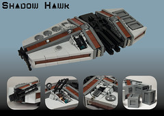 The Shadow Hawk (N-11 Ordo) Tags: shadow for ship lego hawk space story hunter bounty struggle assassin ordo n11 klegon cathlyn